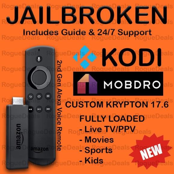 jailbroken amazon fire tv